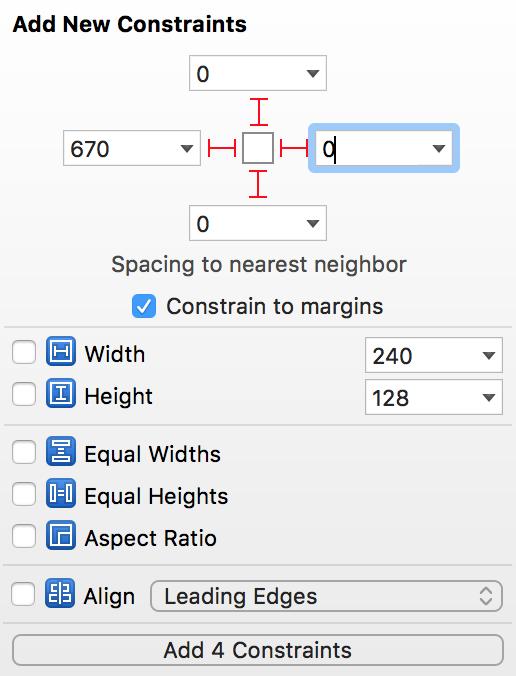 Size Constraints