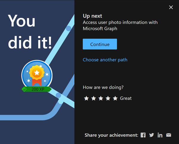 Graph Fundamentals - You did it