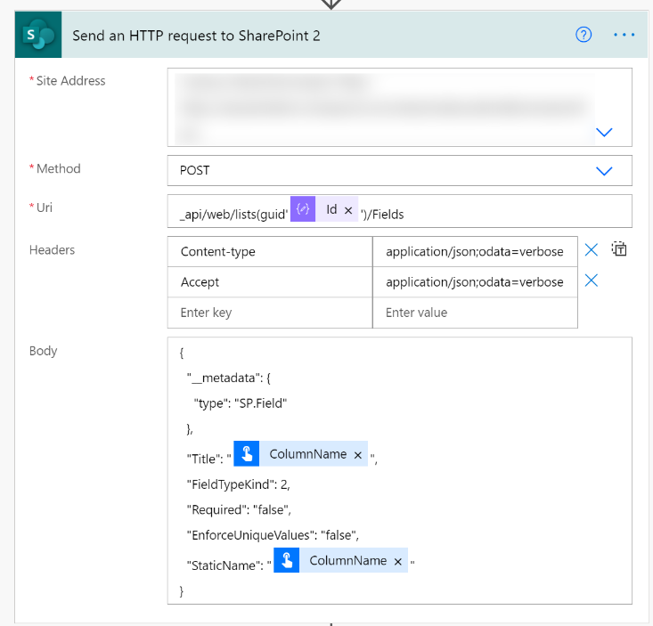 Send an HTTP request to SharePoint 2