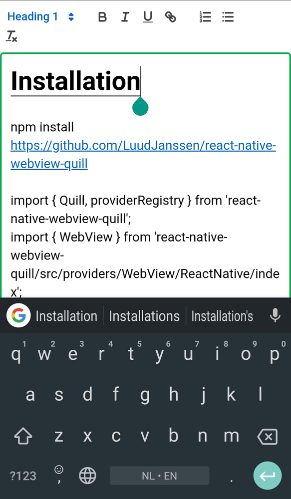 react-native-webview-quill - npm