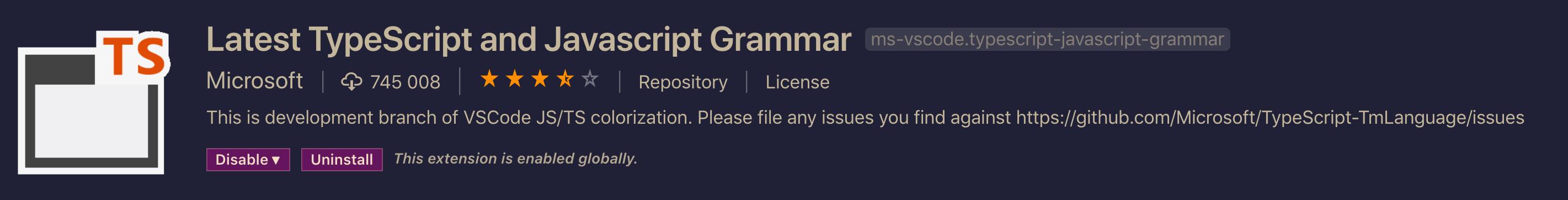 [Latest TypeScript / Javascript Grammar]