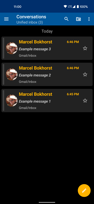 Messages - dark