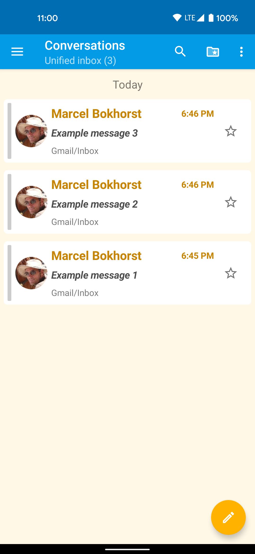 Messages - light