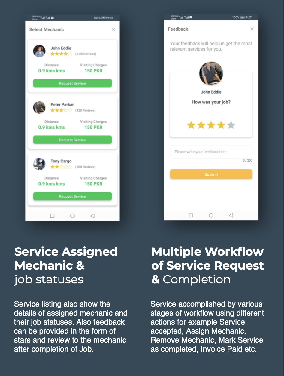 Find Mechanic - Premium React Native Full Application Template for iOS & Android - 12