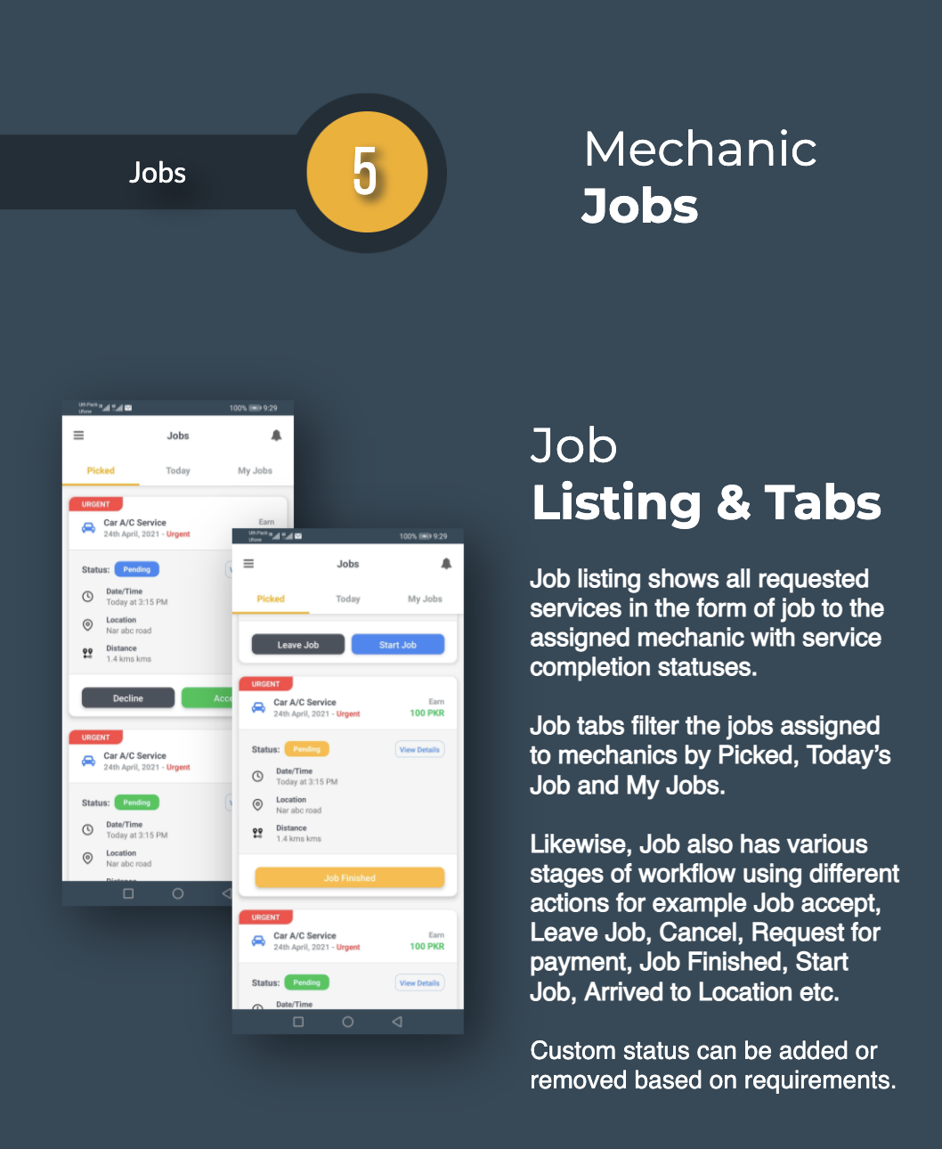 Find Mechanic - Premium React Native Full Application Template for iOS & Android - 14