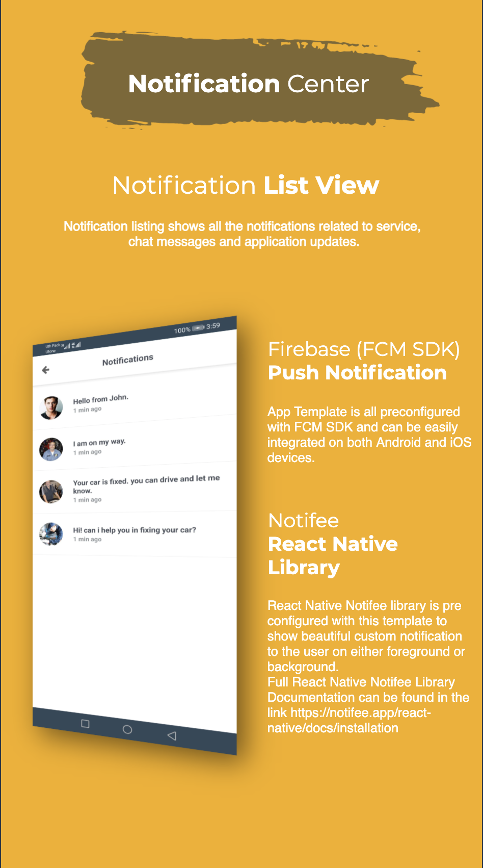 Find Mechanic - Premium React Native Full Application Template for iOS & Android - 16