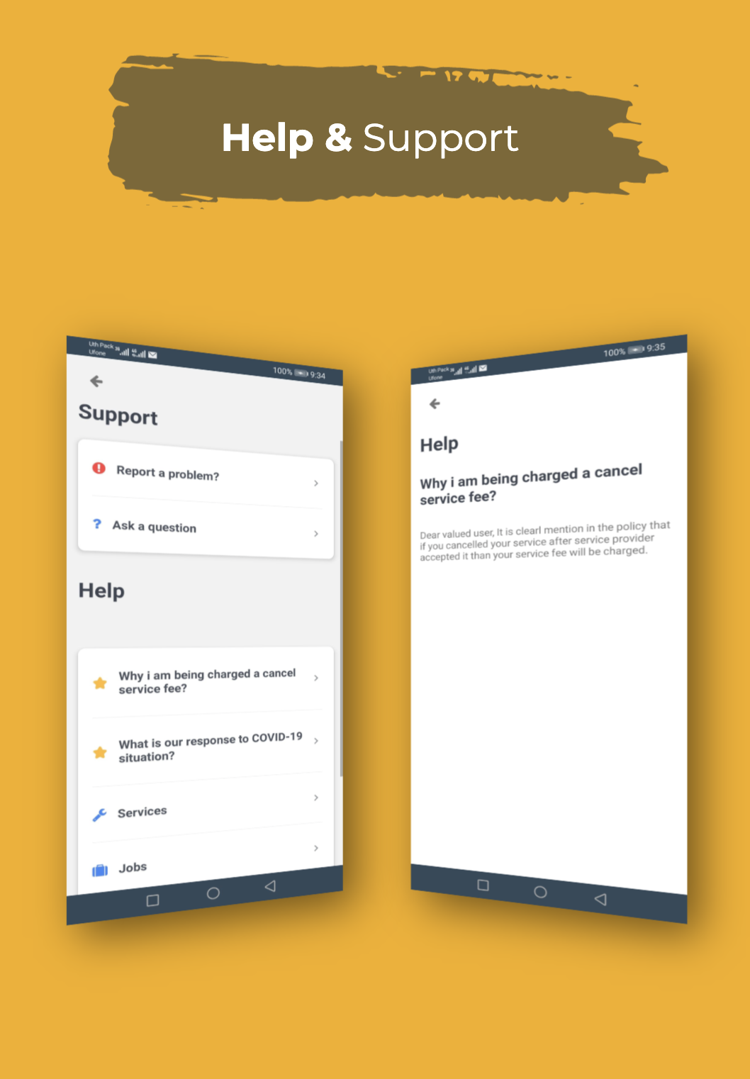 Find Mechanic - Premium React Native Full Application Template for iOS & Android - 23