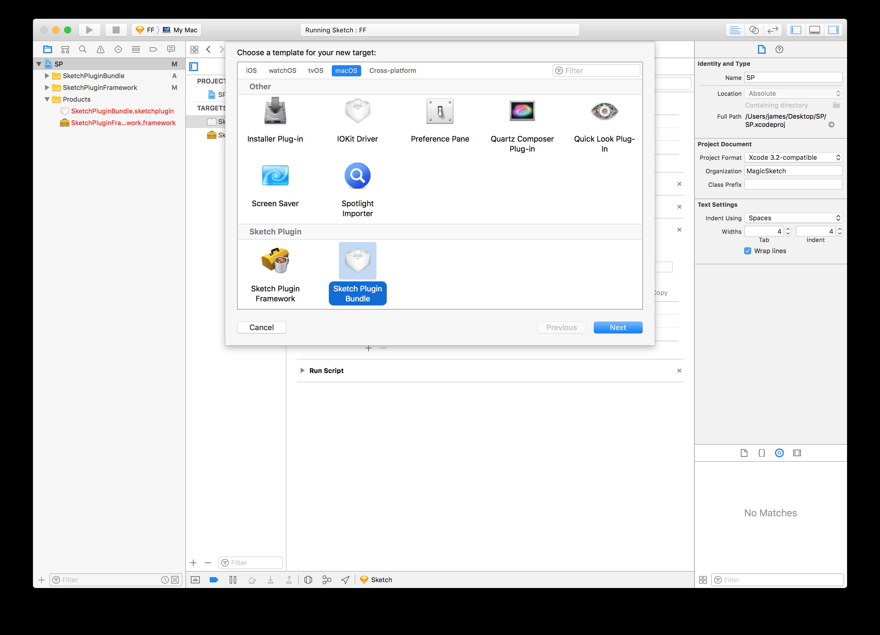 Xcodetemplate Sketchplugin