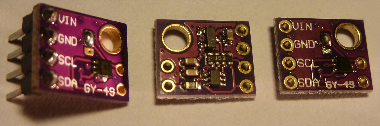 Sensore luminosità MAX44009