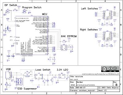 Main board schematic