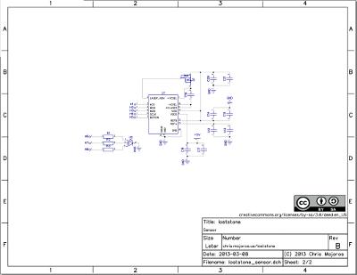 Sensor board schematic