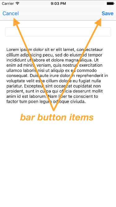 Introduction to Bar Button Items | Make School