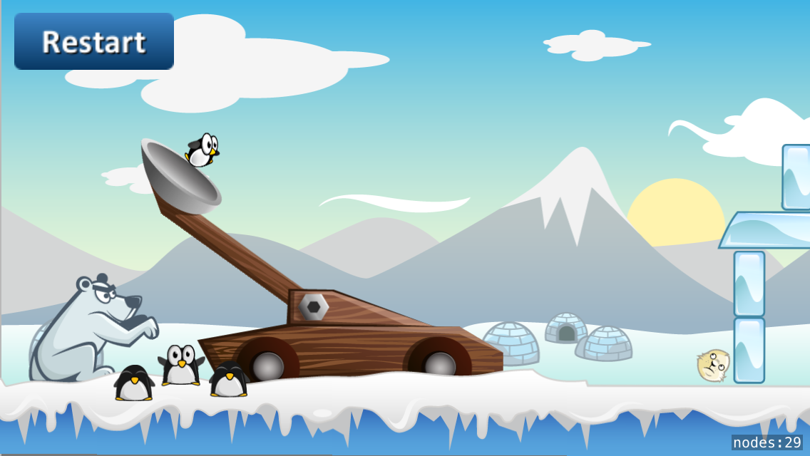 Penguin launcher