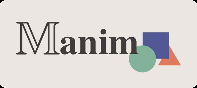 The ManimCommunity logo