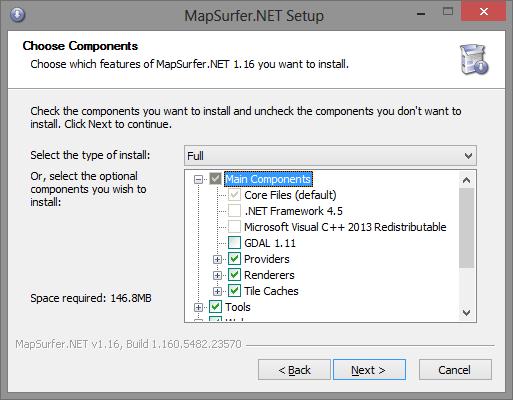 MapSurfer NET | Documentation