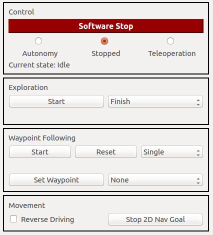 RSM Control Panel
