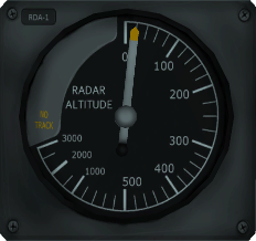 RDA-1 radar altimeter