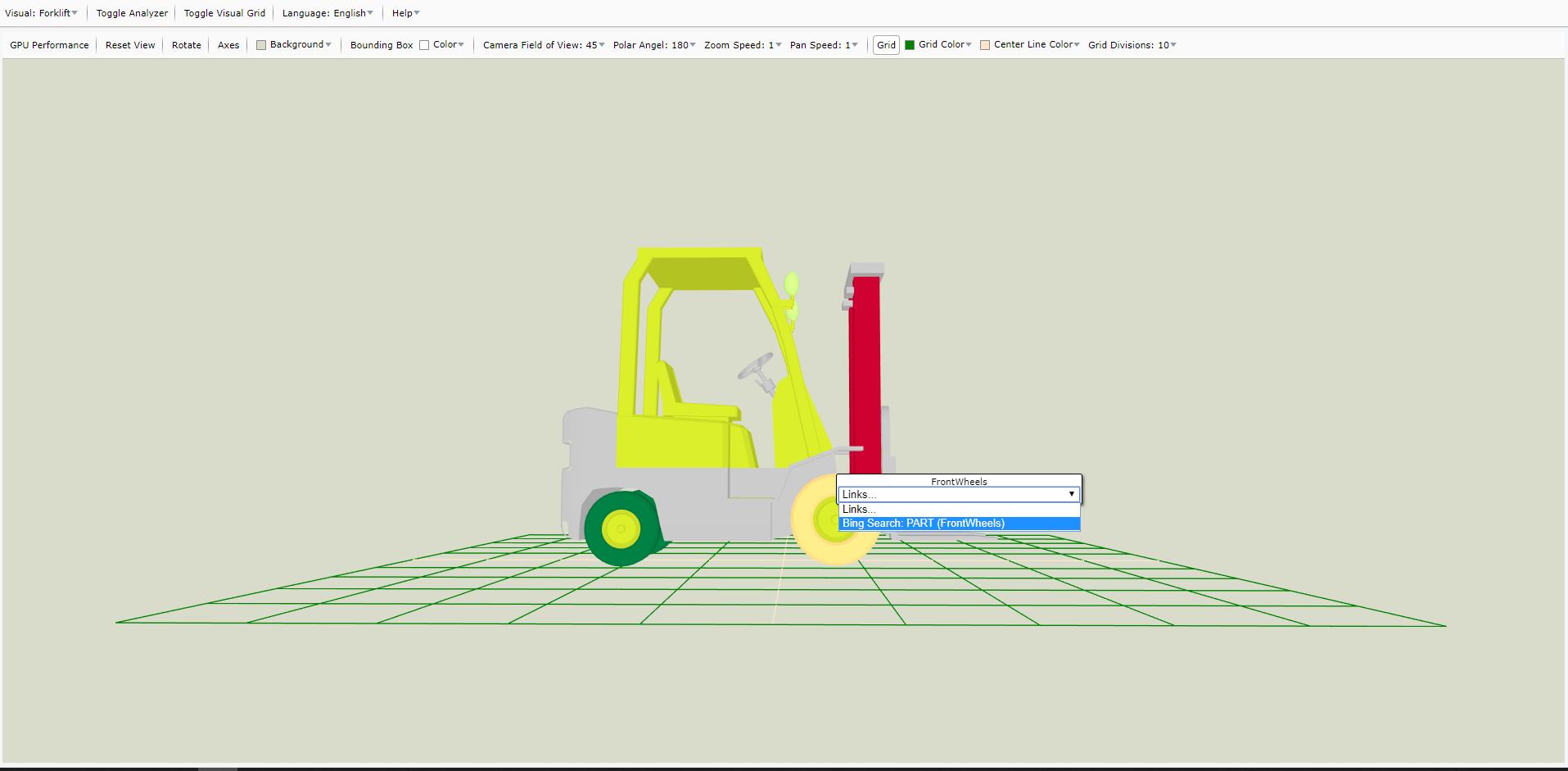Screen Shot of My Data Visualizer ForkLift1