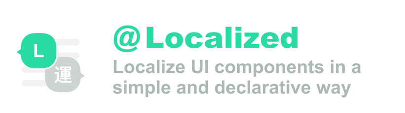 Localizable: Localize UI Components in a simple and declarative way
