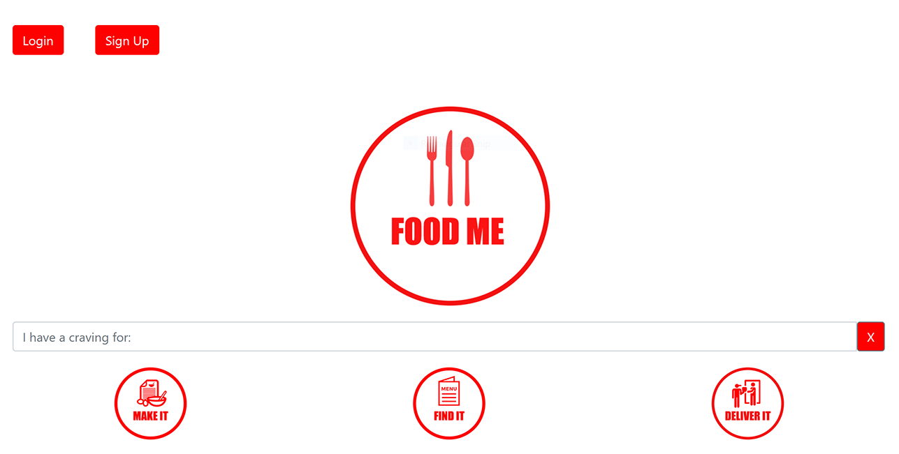 Home page image of Food Me