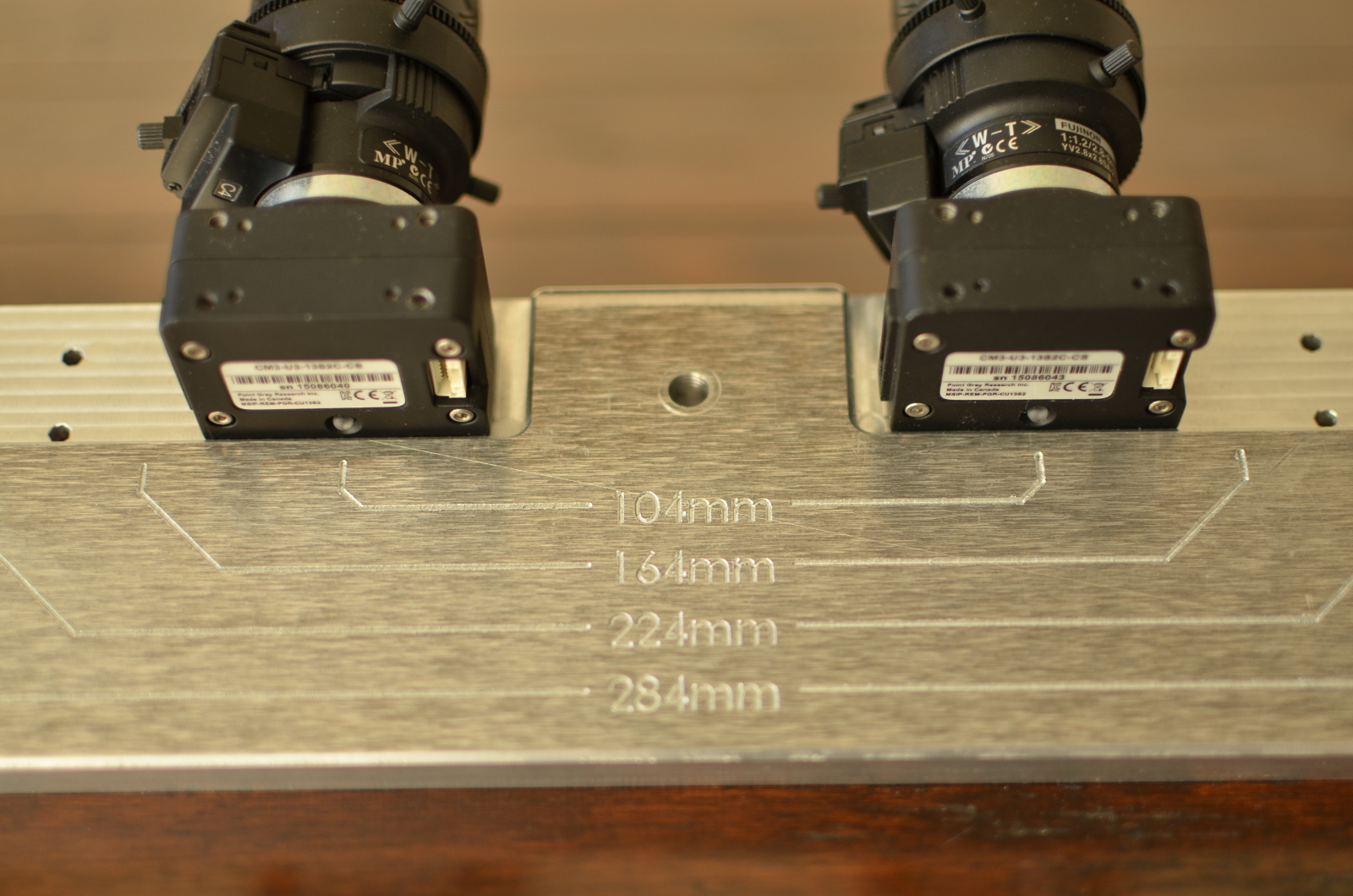 CNC Camera Mount Close-up Top