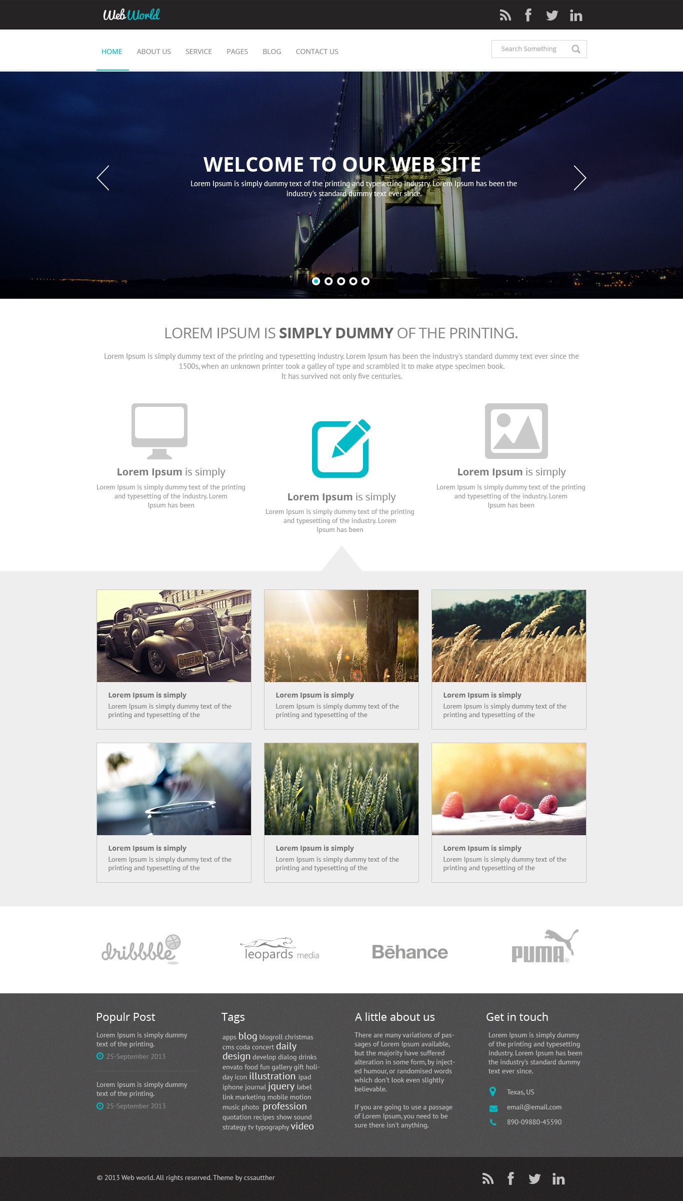 Github marouanezizahbootstrap 4 webworld template a bootstrap 4 free business web template accmission Gallery