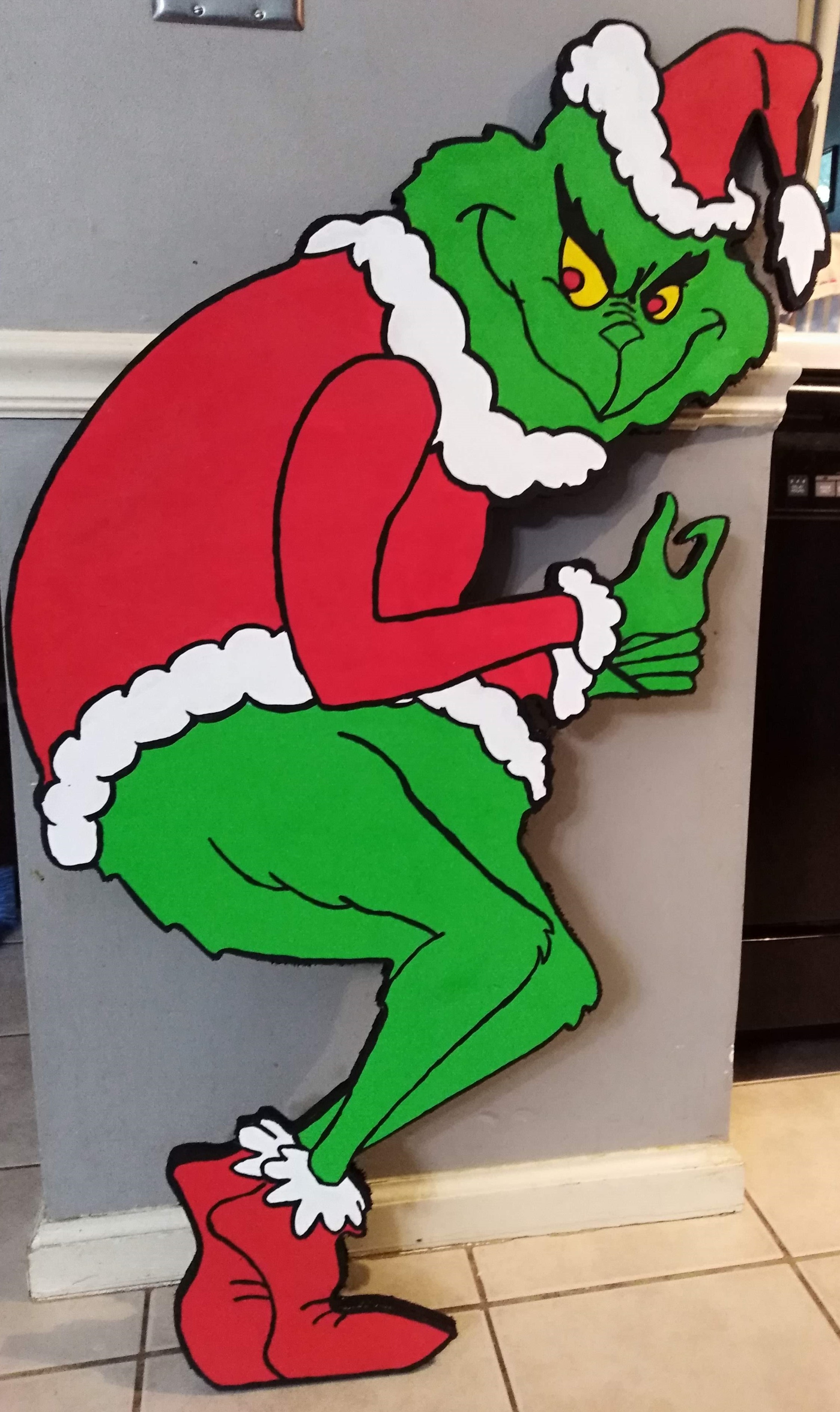 Christmas Grinch Family Grinch