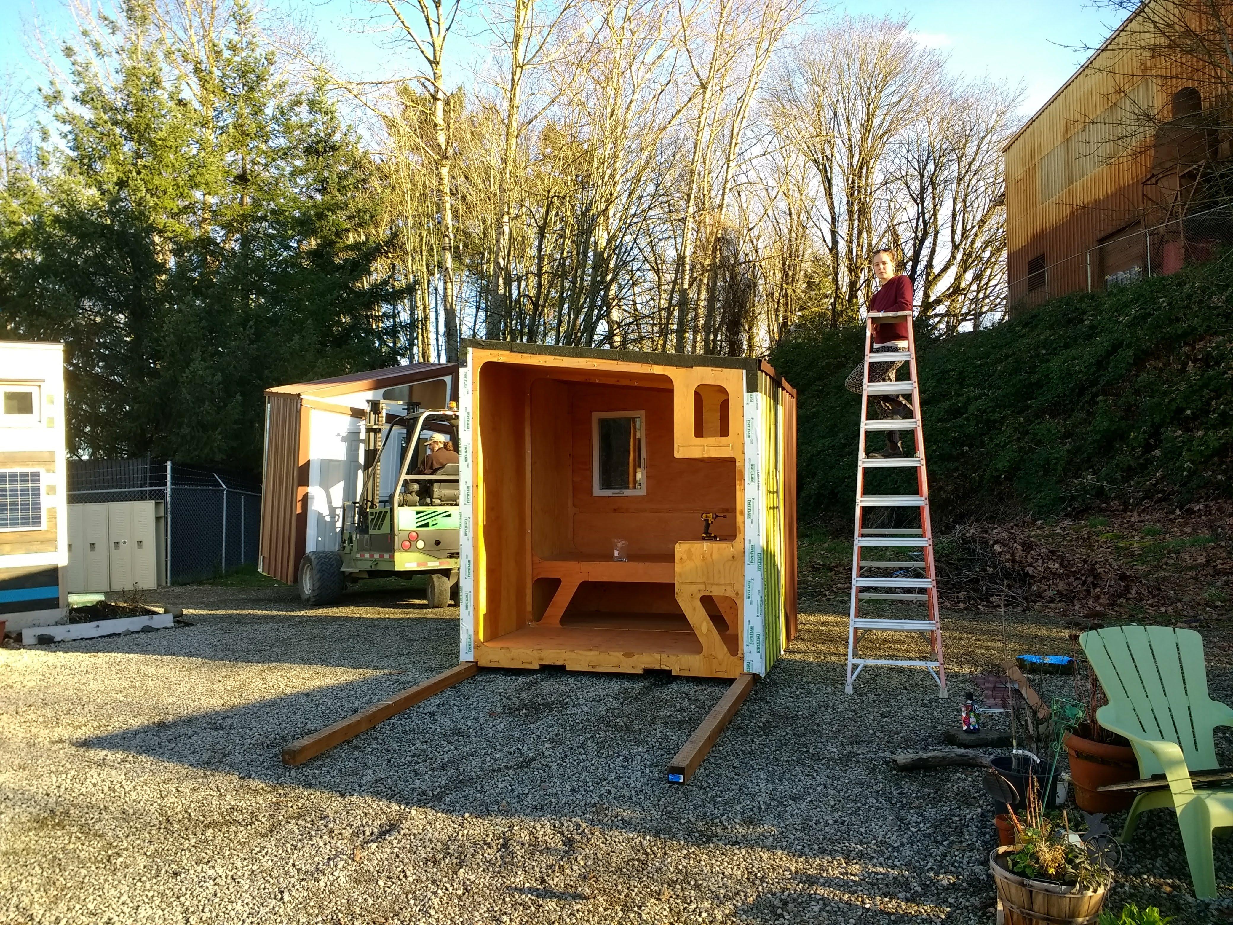 Shelf module installed in Kenton