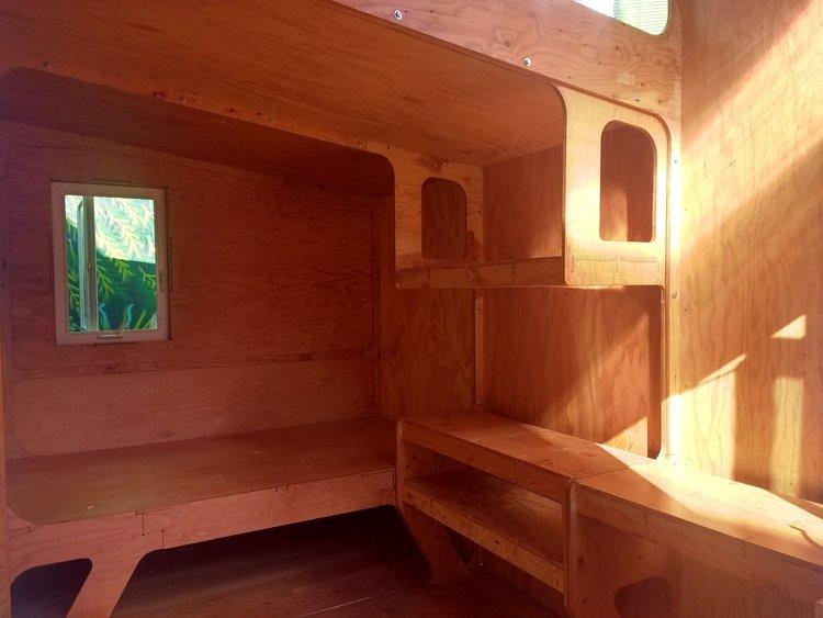 Shelves interior