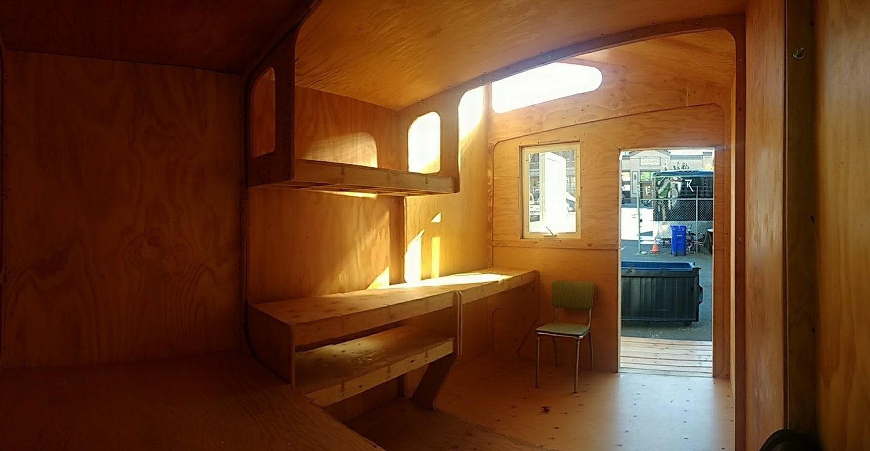 shelves interior two