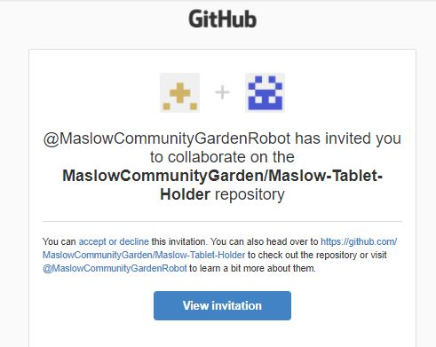github invitation