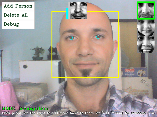 Ch8) Face Recognition using Eigenfaces or Fisherfaces