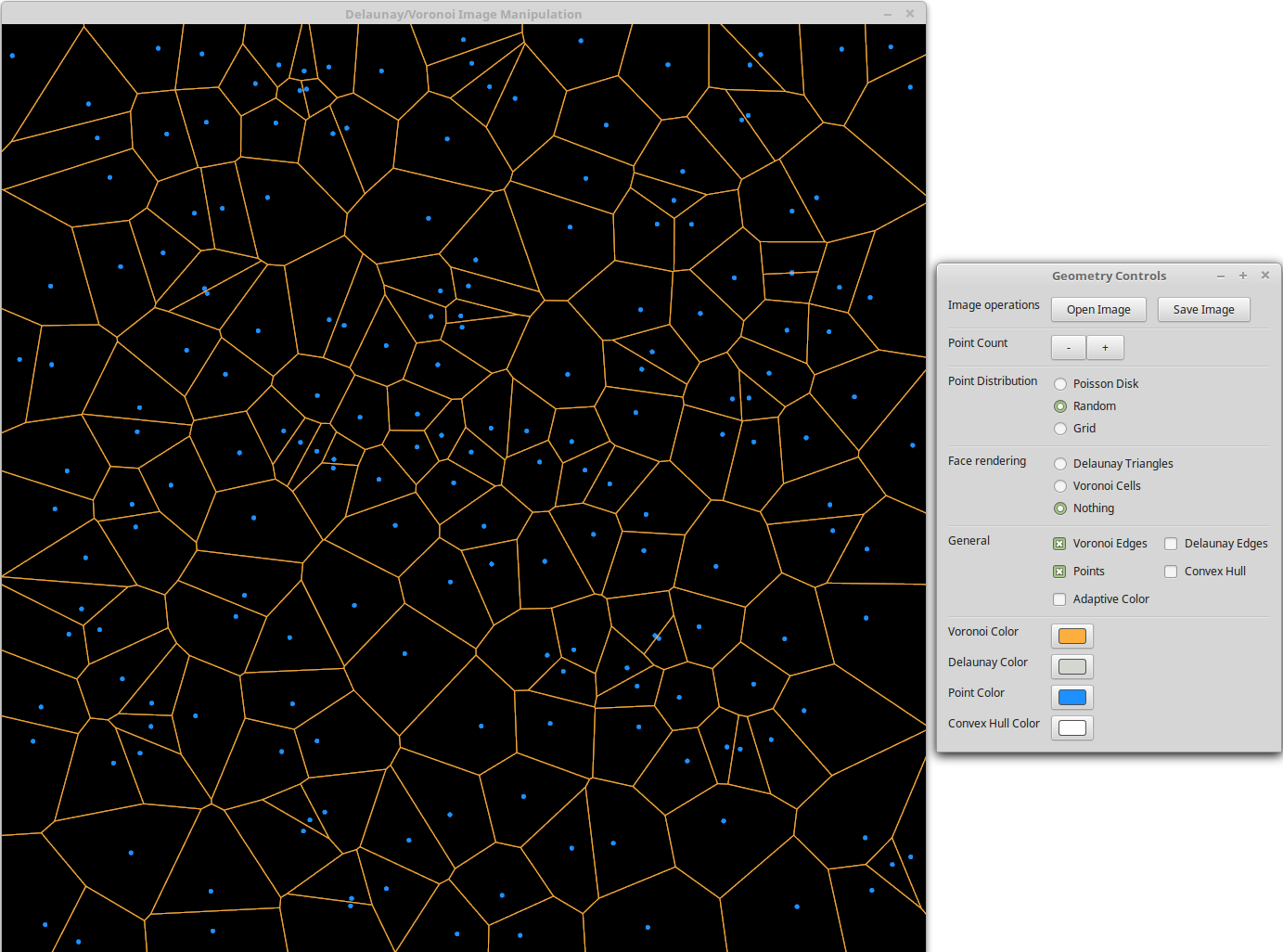 Just voronoi