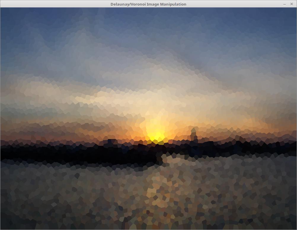 Sunset voronoi
