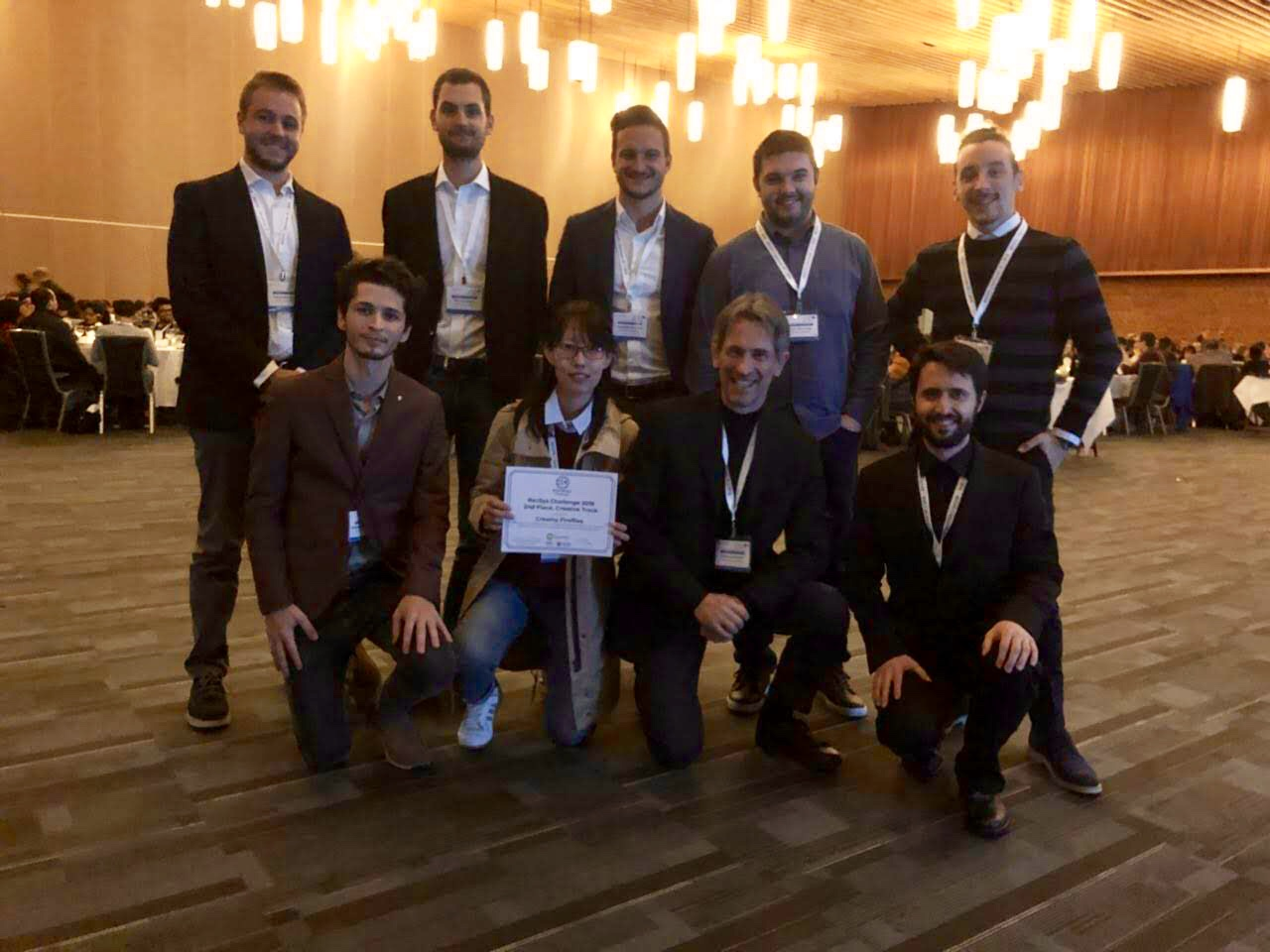 Our team at the RecSys challenge 2018