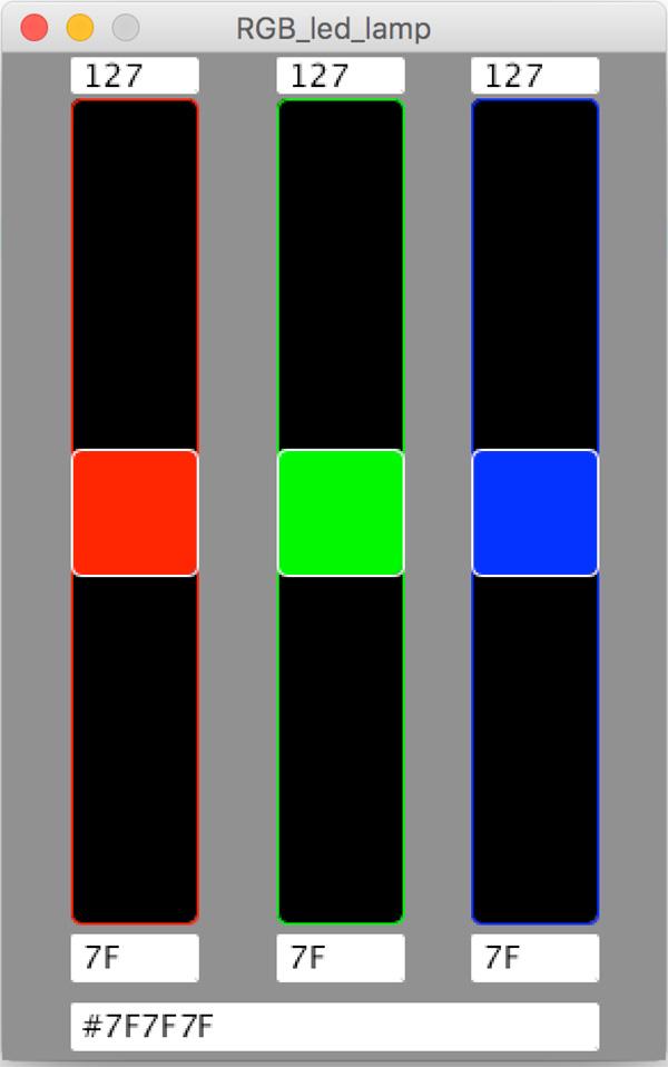 RGB WS2812 Processing Serial Interface