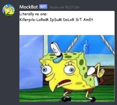Mockbot Discord Bots