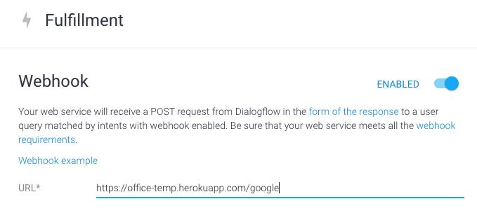 Dialogflow connect