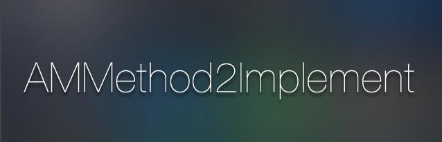 AMMethod2Implement Banner
