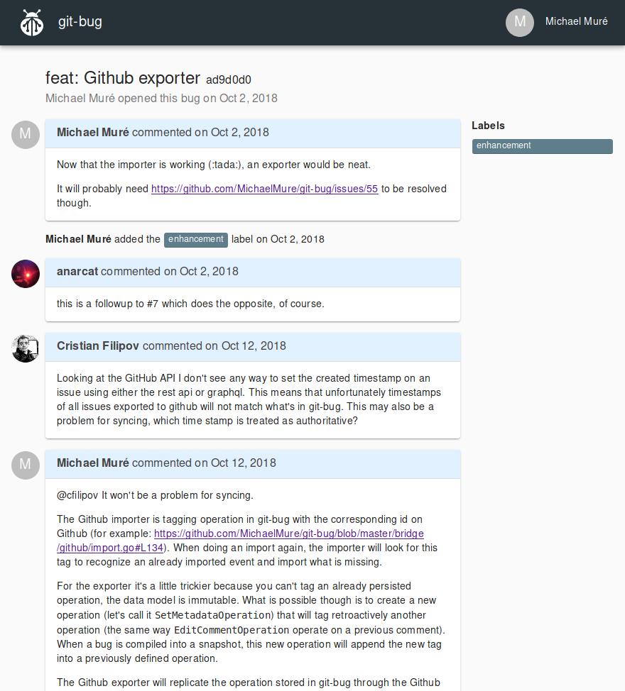 Web UI screenshot 2