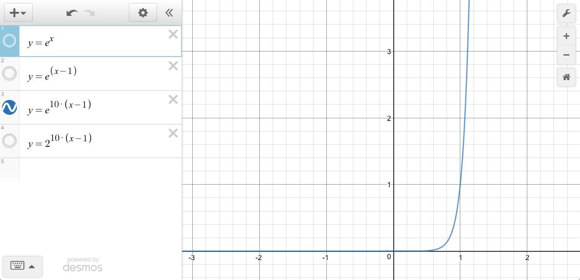 e^10*(x-1)