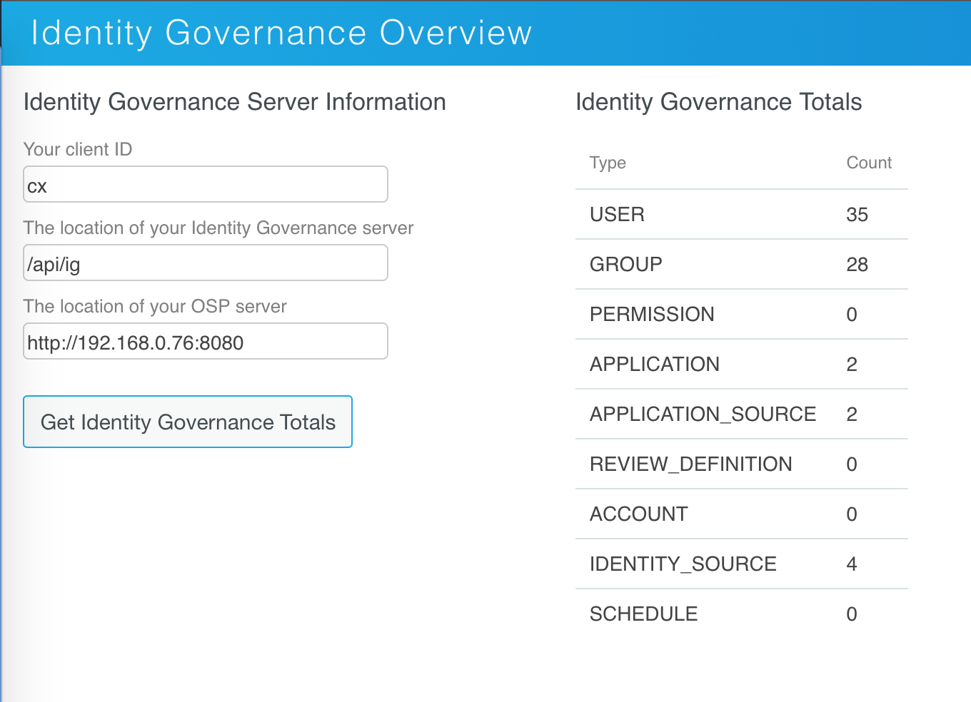 Identity Governance Overview