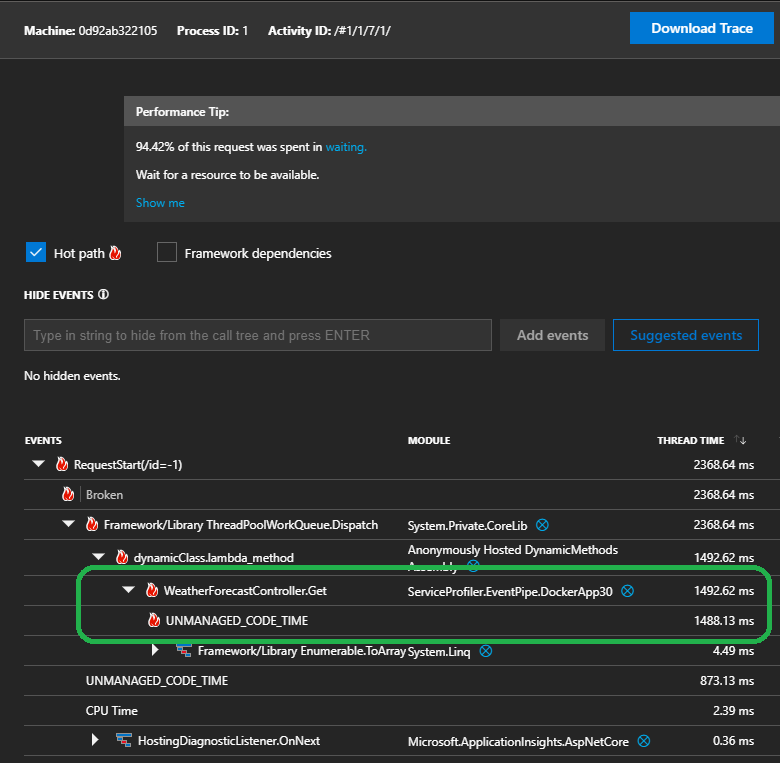 azure application insights desktop app
