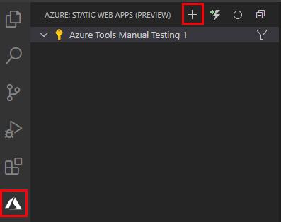 Create Static Web App