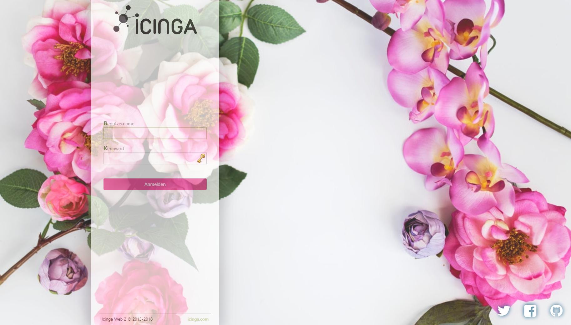 Icinga Web 2 theme Spring