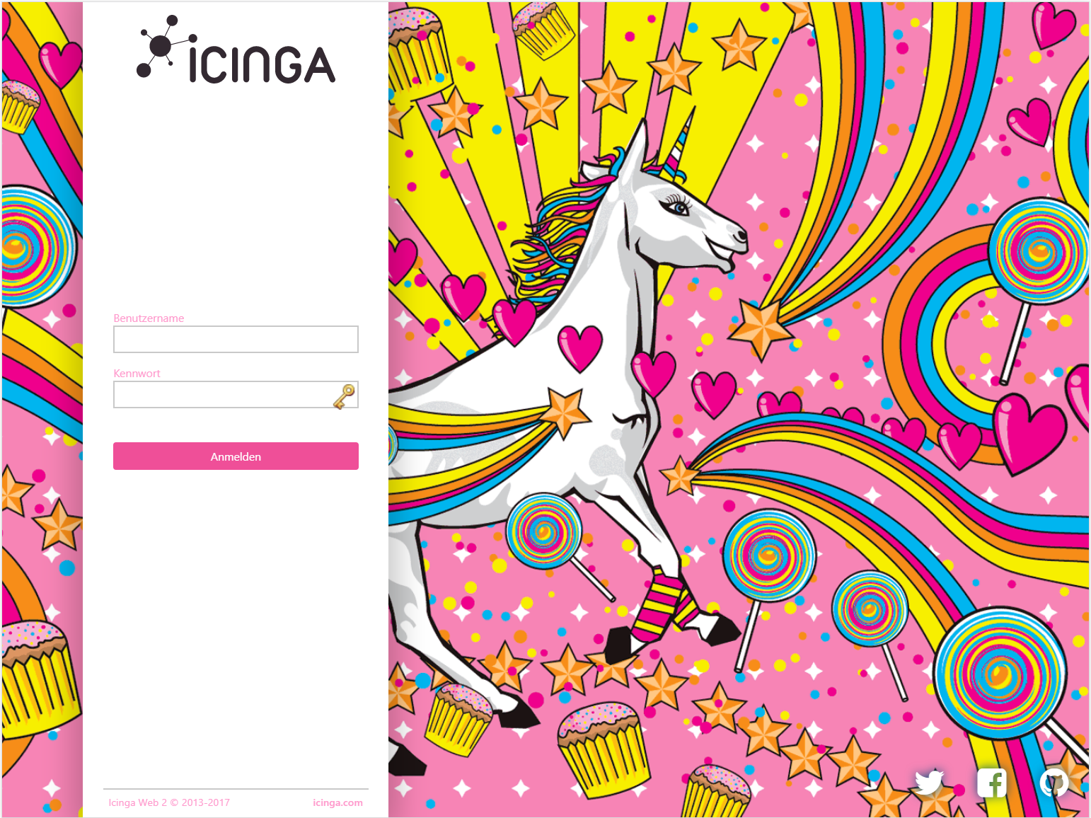 Icinga Web 2 theme Unicorn