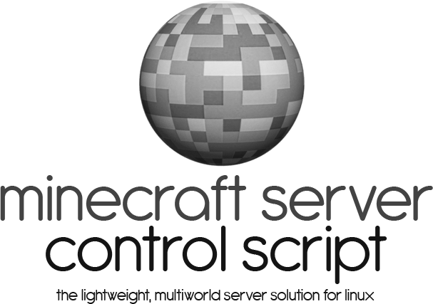 Minecraft Server Control Script -- The lightweight, multiworld server solution for linux