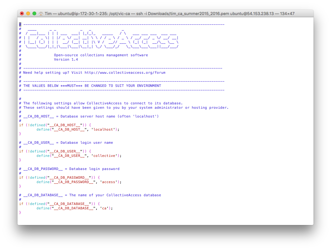The setup.php file
