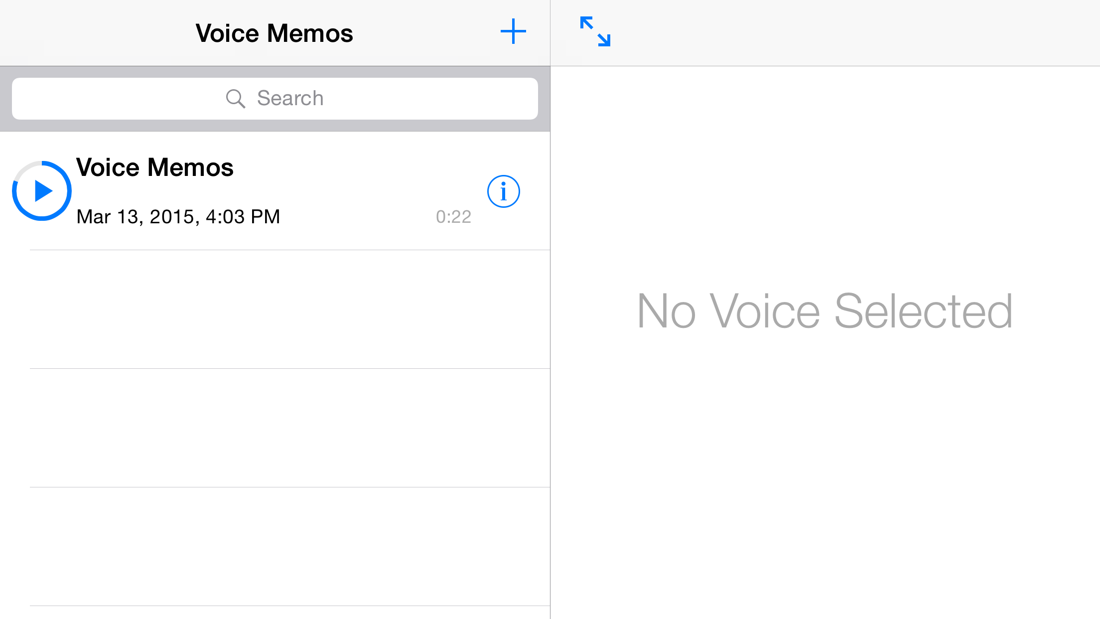 GitHub - MoZhouqi/VoiceMemos: Voice Memos is an audio recorder App