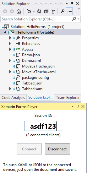 Xamarin Forms Player - Visual Studio Marketplace